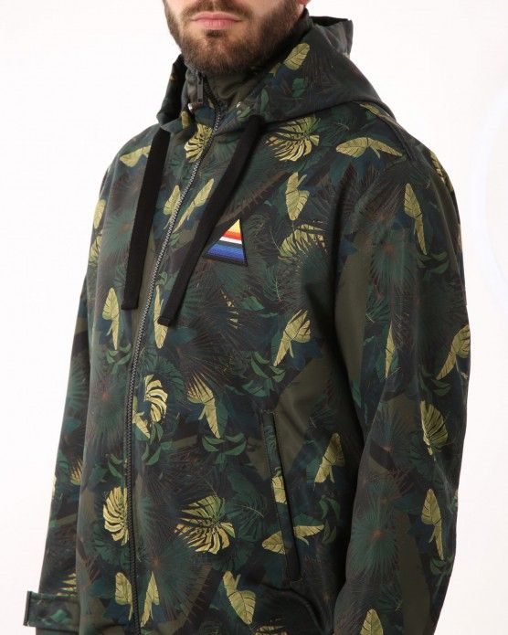 Jacket with forest design Iceberg