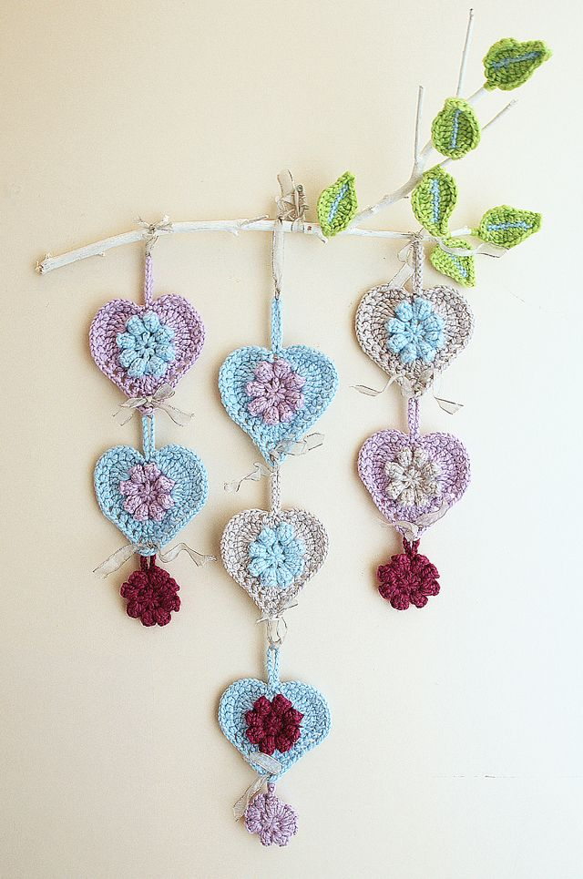 crochet home decor hanging - Google Search