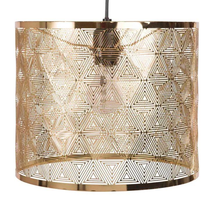 Gold Openwork Metal Pendant Light Industrial Pendant Lights Metal Pendant Lighting