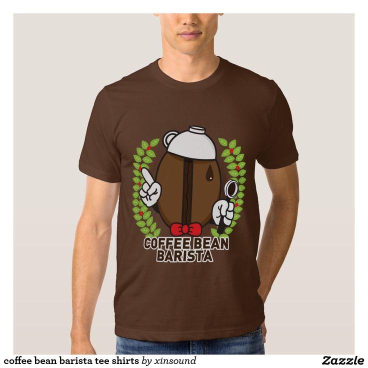 coffee bean barista tee shirts