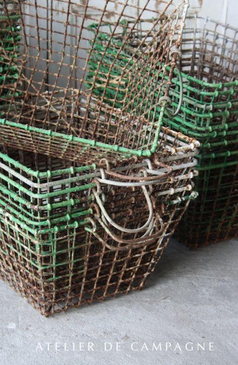 Vintage. Wire Baskets.