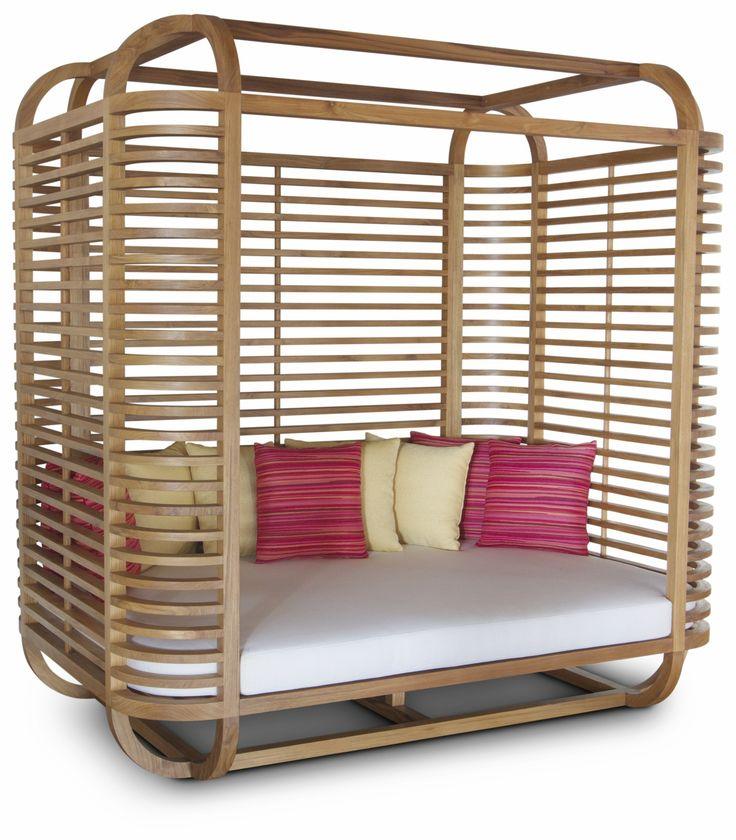 Fesselnd HaWé Outdoor #daybed #hideaway #teak #teakhout #chair #outdoor #furniture