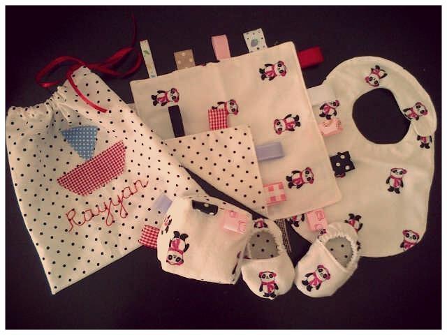 a gift set for baby rayyan