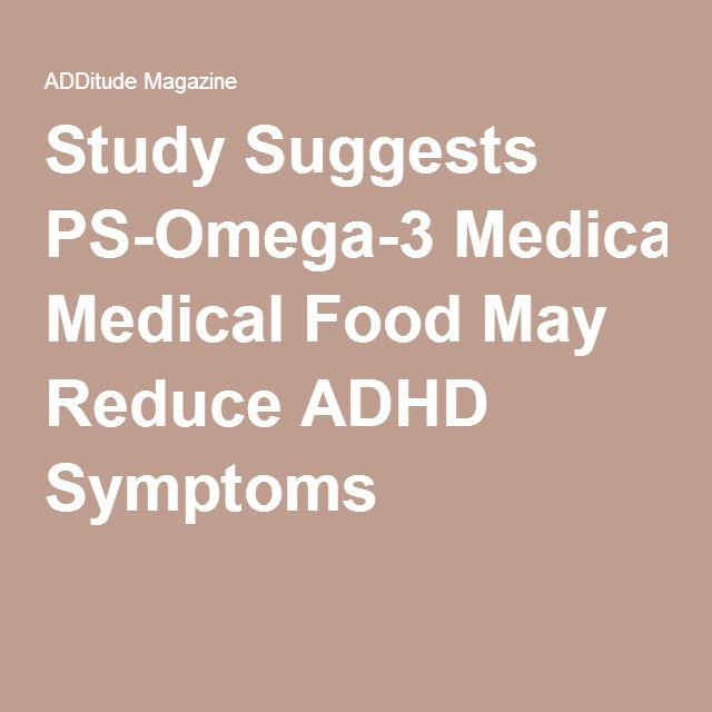 Phosphatidyl serine for adhd
