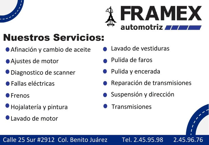 Estamos ubicados en Puebla Calle 25 sur 2912 Colonia Benito Juárez cp 72410 Tel. 2459598 o 2459676