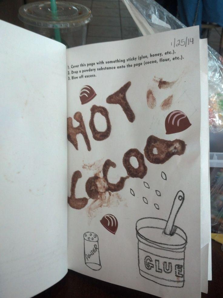 Glue and cocoa