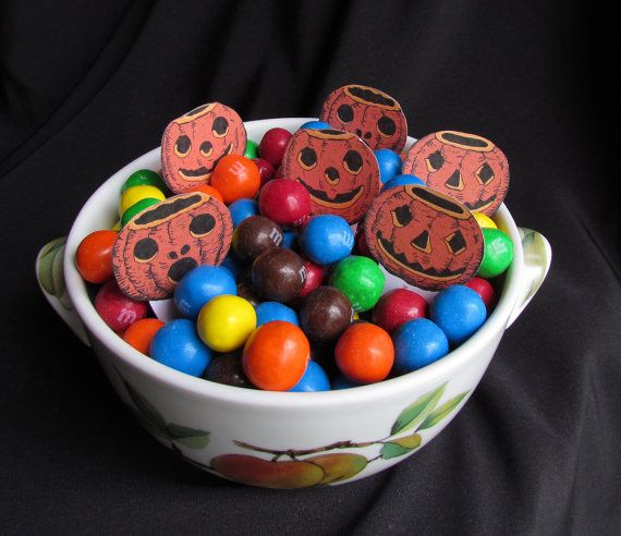 Vintage Halloween Candy Party Game Digital by chocolaterabbit, $3.75