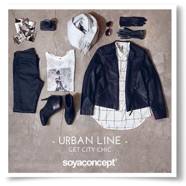 Get city chic in the new soya Fall collection #soyaconcept #kollektion #collection #mode #fashion #tøj #clothes #fall #efterår #jakke #jacket #skjorte #shirt #shoes #sko #blouse #bluse #pants #bukser #sunglasses #solbriller #dametøj #ladyswear