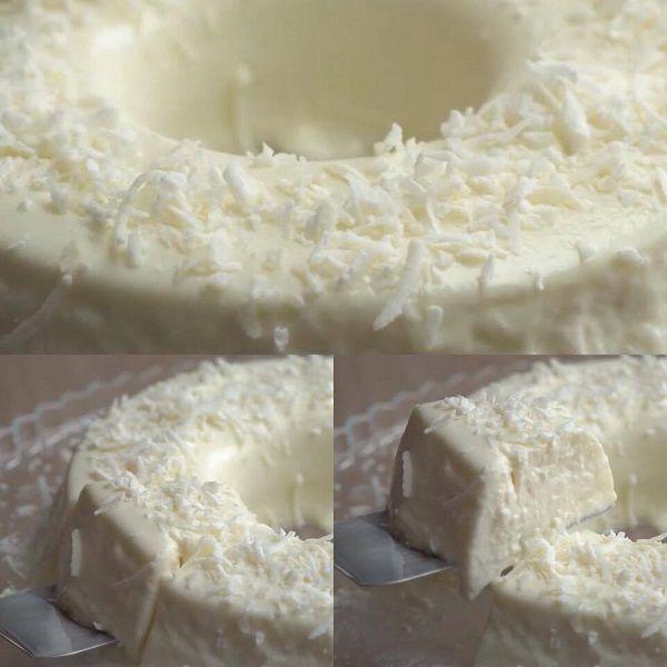 A Receita de Bolo Gelado de Coco e Tapioca é prática e deliciosa. Para começar, não precisa ir ao fogo. Você mistura todos os ingredientes da receita, colo