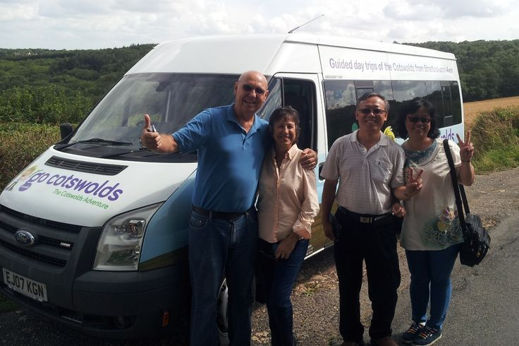 Happy Go Cotswolds customers from the USA and Taiwan