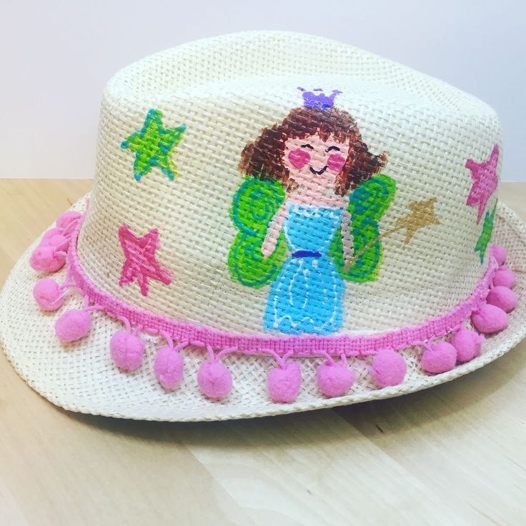 handpainted baby hats by cottonprince.gr