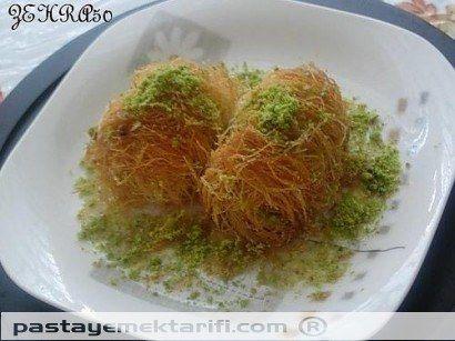 Sütlü Sarma Tel Kadayif Tatlisi resimli yemek tarifi, Helvalar - Diğer Tatlılar tarifleri
