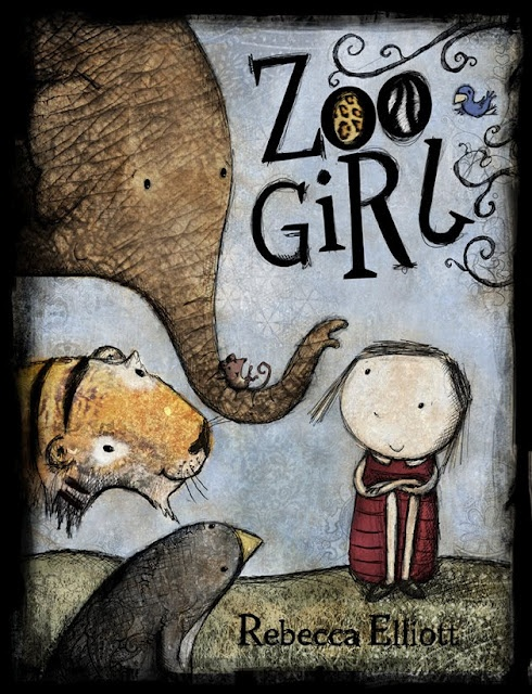 Must have List - Zoo Girl by Rebecca Elliott - such a sweet book with brilliant illustrations!! Game, snack, and craft ideas here!!
