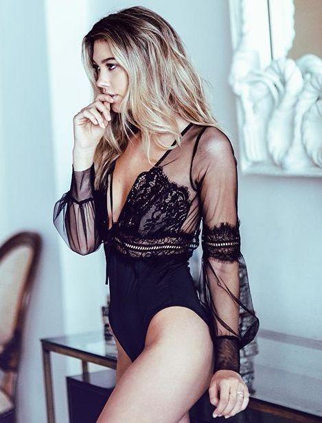 Stella Black Bodysuit