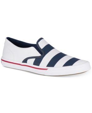 SPERRY MEN'S STRIPER SLIP-ON SNEAKERS MEN'S SHOES. #sperry #shoes #