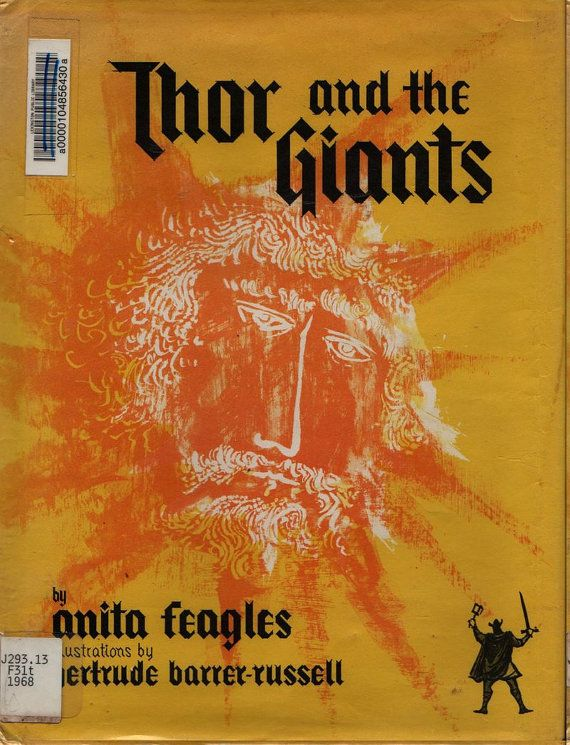 Thor and the Giants An Old Norse Legend - Anita Feagles - Gertrude Barrer-Russell - 1968 - Vintage Book