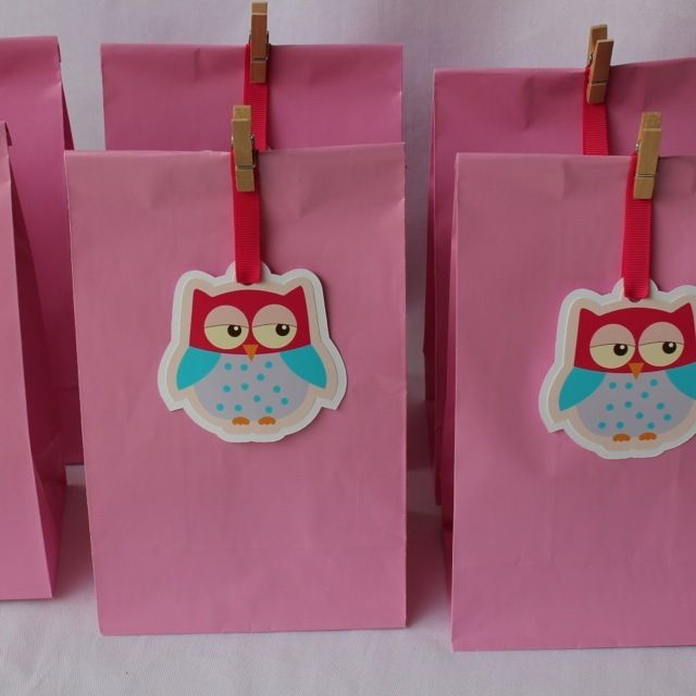 Image of Sweet Owl Paper Party Bags
