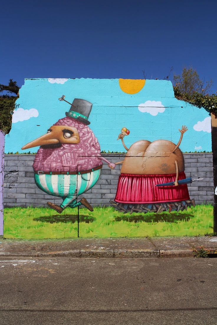 """Ador creates """"The stroll of Sam and his nephew"""" in Nantes, France"""