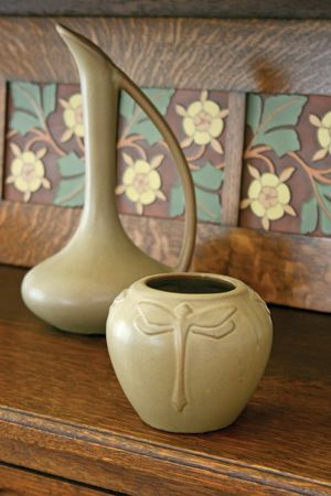 Worth Collecting This unique pottery from the Van Briggle Pottery Company reflects the same graceful art-nouveau style that has been admired and collected for more than a century.