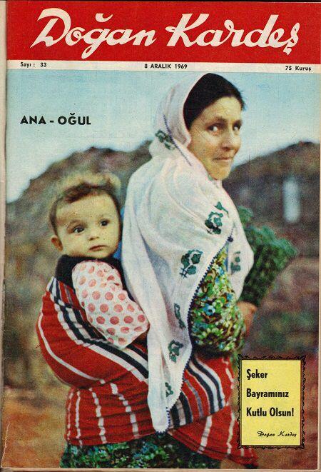 Bir zamanlar en popüler çocuk dergisi idi - Doğan Kardeş 1969