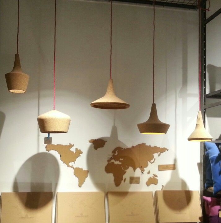 75 best lamp cork images on pinterest corks product design and cork lampshades aloadofball Images