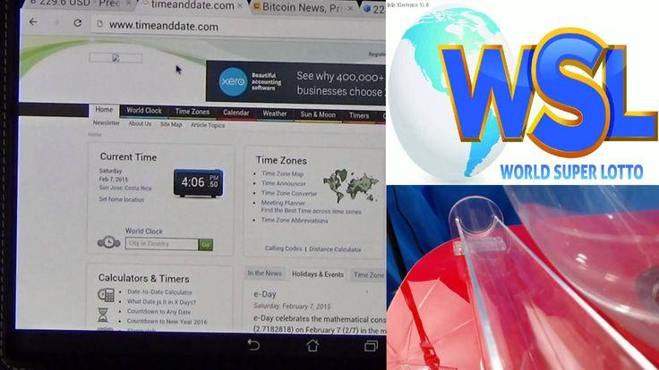 World Super Lotto - Live Drawing #38 - Feb 7, 2015, Jackpot 9.5 Btc #WorldSuperLotto   #WSL https://winwsl.com