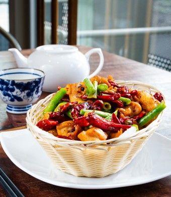 Spicy Szechuan Chicken
