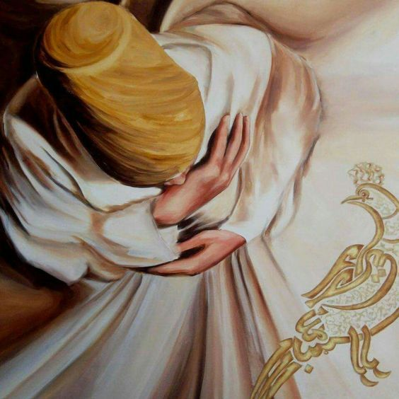 """""""Eğer Allah seni bana yazmışsa, benden kaçışın yok!  Lakin kader seni benden almışsa, ağlamaya lüzum yok...""""  Şems-i Tebrizi"""