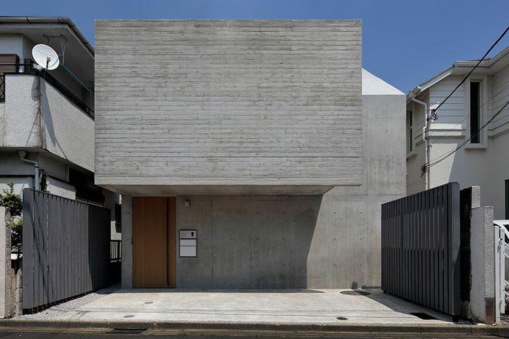 RC住宅 鉄筋コンクリート造の家 House in Hatsudai1