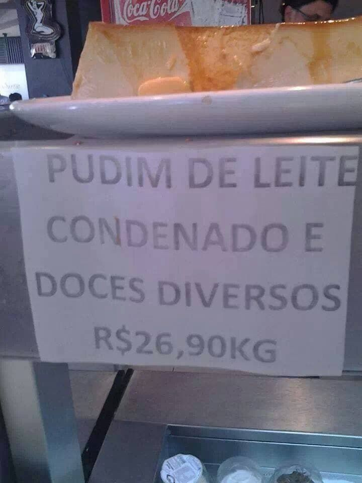 Pudim is the new black.