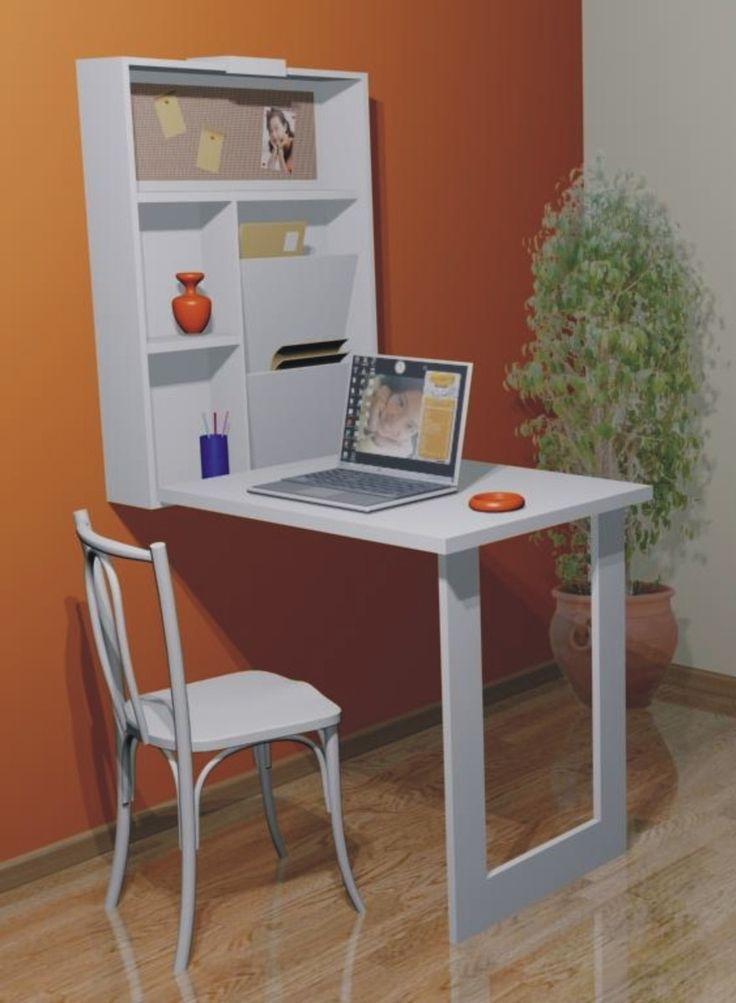 Mesa Em Parede ~ 25+ melhores ideias sobre Mesa retratil de parede no Pinterest Mesa dobravel parede