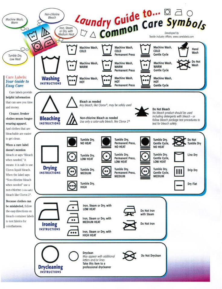 12 Best Care Labelling Images On Pinterest Cleaning Households