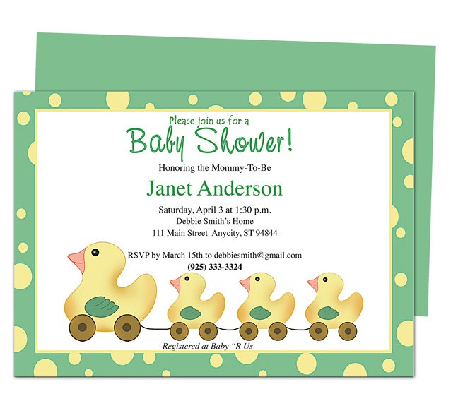 42 best Baby Shower Invitation Templates images on Pinterest Diy - baby shower invitations for word templates