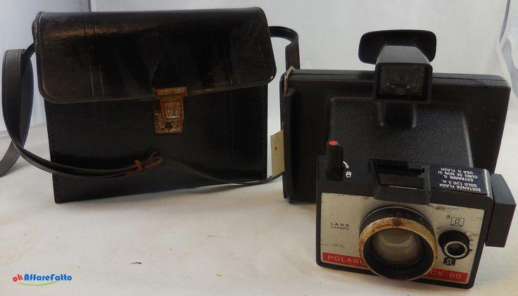 H 1093 MACCHINA FOTOGRAFIA POLAROID LAND CAMERA COLORPACK 80 DEL 1971 CON CUSTODIA - http://www.okaffarefattofrascati.com/?product=h-1093-macchina-fotografia-polaroid-land-camera-colorpack-80-del-1971-con-custodia