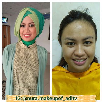Nura Make Up Of ADITV: make up wisuda