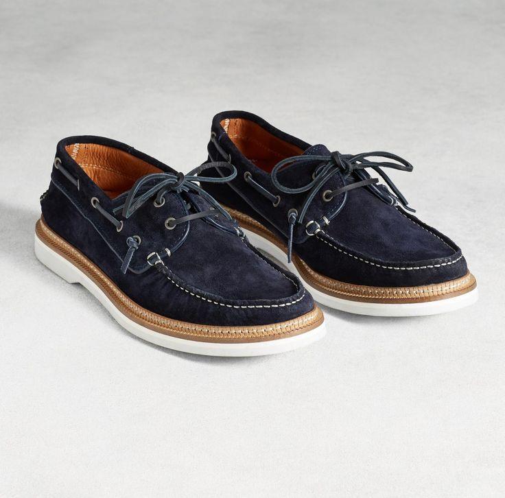 John Varvatos Montauk Mens Boat Shoes
