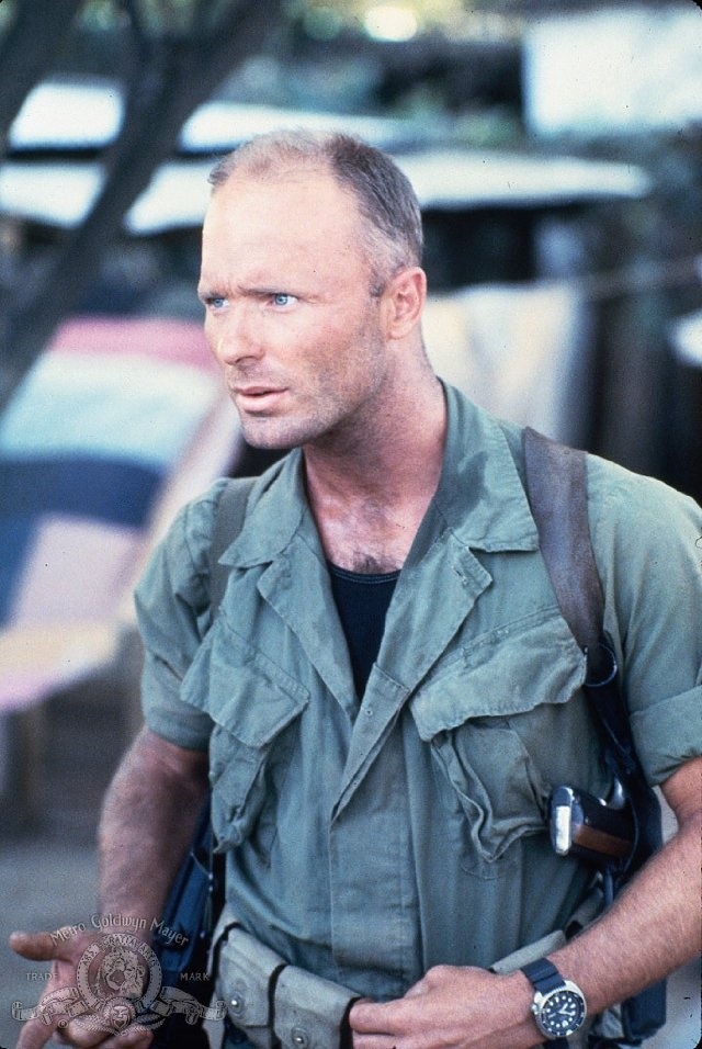 I can't remember a time when I didn't love Ed Harris. There's always something very sexy about him. I just think he's so awesome and underrated in talent especially. --Pia Ed Harris in Under Fire