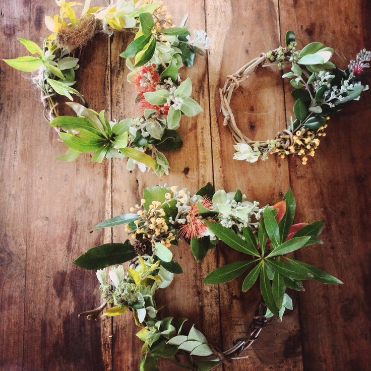 Native Australian wreaths by Celia Jay Tudor. Florist @tweedcoast #wreath…