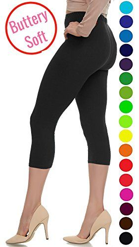 83dd3723df9 LMB Extra Soft Capri Leggings with High Wast - 20+ Best Selling Colors -  Plus