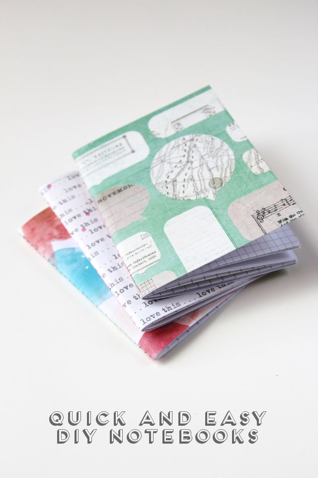 "Excellent site.  Truly easy.  ""Quick and easy diy sewn notebooks."""