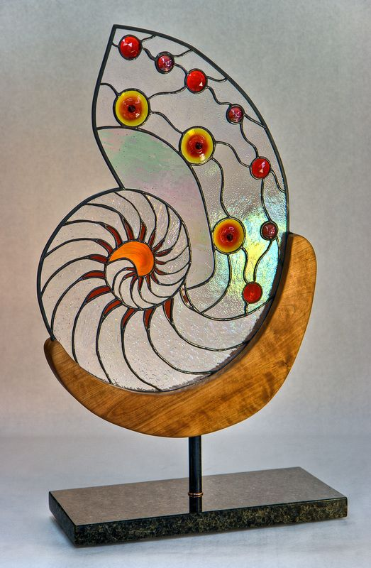 Stained Glass Autonomous Panels and Free Standing Sculpture - Dark Hollow Stained Glass