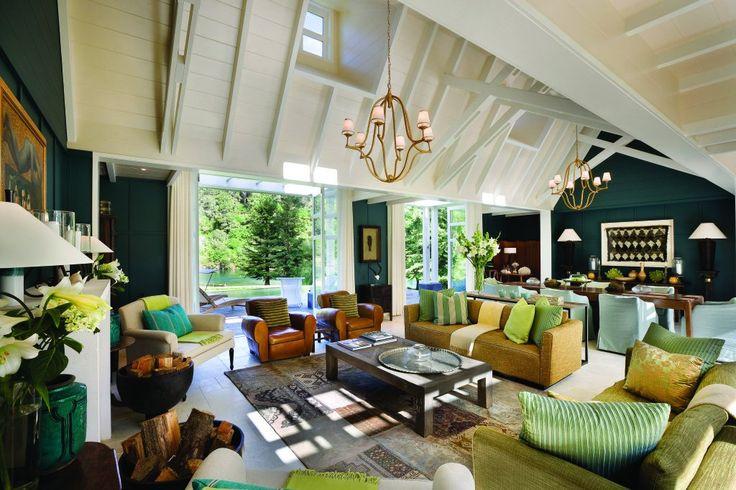 Lake Taupo's Huka Lodge Alan Pye Luxury Cottage