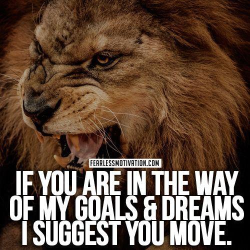 15 Best Lion Fearless Motivation Images On Pinterest