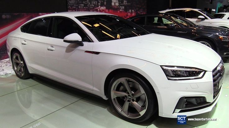 2018 Audi A5 Sportback - Exterior and Interior Walkaround - 2017 Montrea...