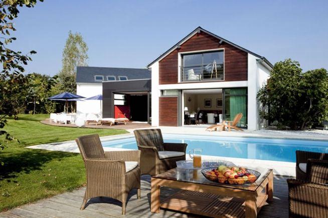 Les Arbres Rouges maison d'hôtes design à Nantes