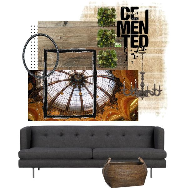 Untitled #1042 by kulta on Polyvore featuring interior, interiors, interior design, home, home decor, interior decorating, CB2, West Elm, Crystorama and Flamant