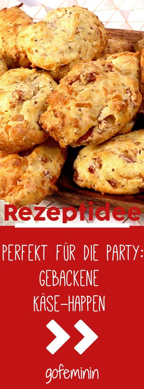 Gebackene Käse-Happen: Das beste Rezept für die nächste Party!
