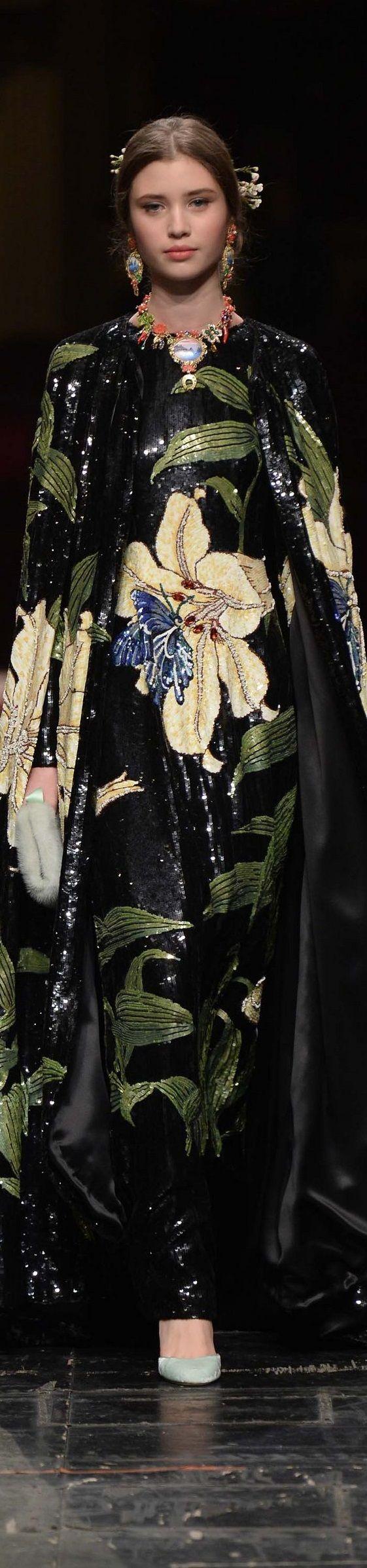 Défilé Dolce & Gabbana: Haute Couture printemps-été 2016