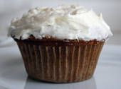 White Frosting Dairy Free  1 ¾ cups confectioners sugar  # 6 T. dairy-free soy margarine, such as Willow Run  # 2 t. apple cider vinegar  # 1 t. vanilla extract