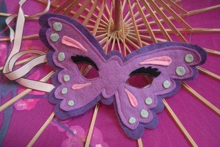 Maschera da farfalla